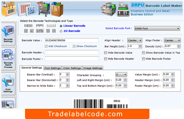 Windows 7 Retail Barcode Generator Software 7.3.0.1 full